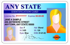 Take a copy of every applicant's photo ID's.